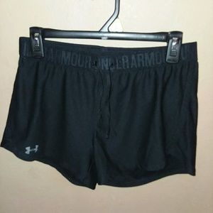 Under Armour Shorts - Black Under Armour Shorts